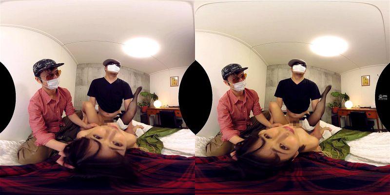 【VR】最悪最低中出しレイプ…彼女が目の前で元カレに犯されているが僕は拘束されて動けない…