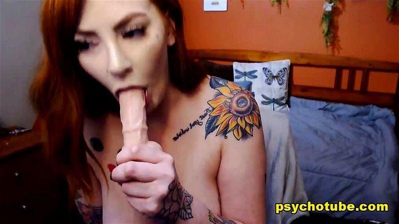 Busty redhead Ariah Rose webcam show