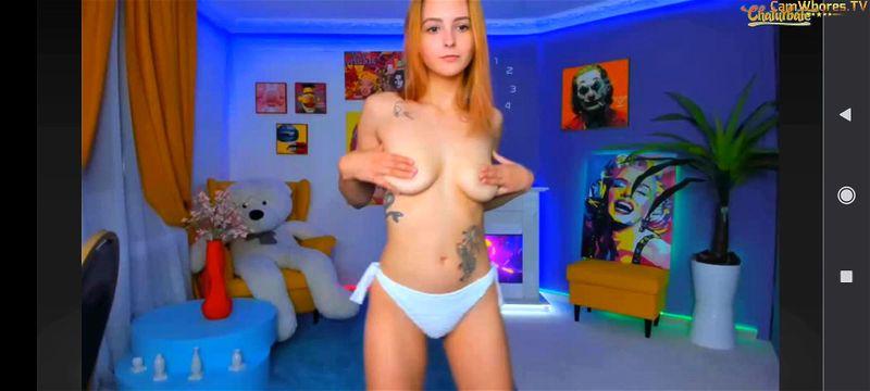 Russian teen Foxy Aleks teases on webcam