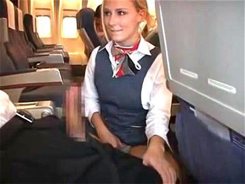 airline stewardessen porno
