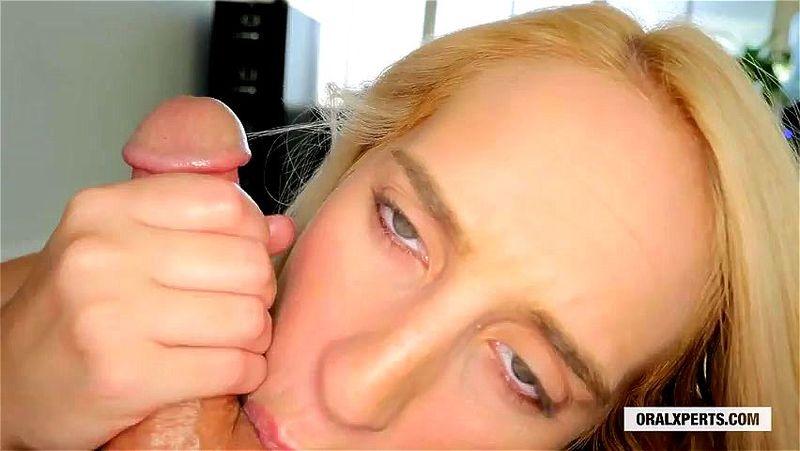 Brunette Pov Blowjob Handjob
