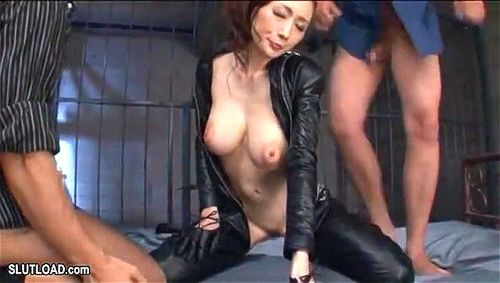 Busty Japanese babe Julia Kyoka - Boobs Demon