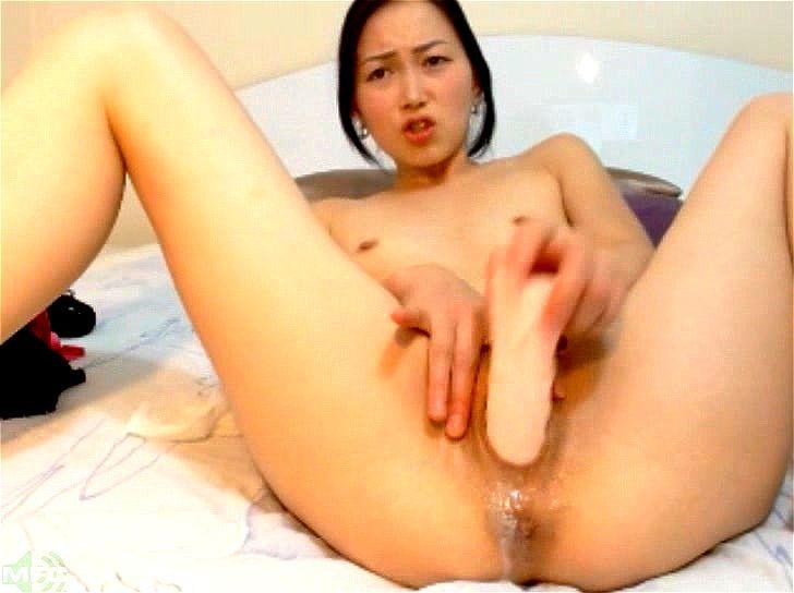 Solo Girl Dildo Masturbation