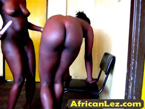 Ebony Teen Playing Herself