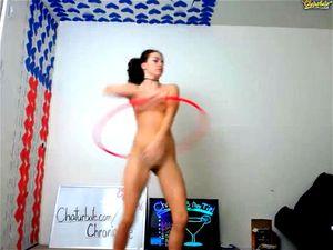 Hula Hoop Striptease