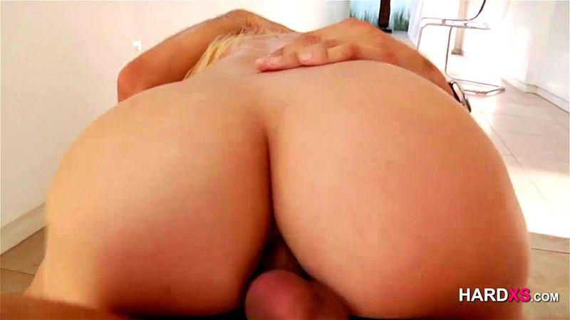 Skinny Blonde Anal Slut