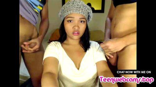 Latina Amateur Teen Blowjob