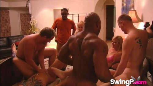 Blonde Wife Swinger Orgy