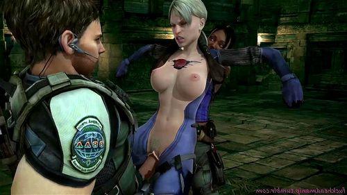 Extreme 3d Cartoon Lesbian