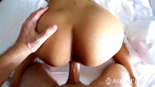Asian Monster Black Dick