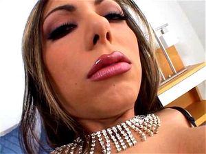 Lela Star in haar sexy lingerie