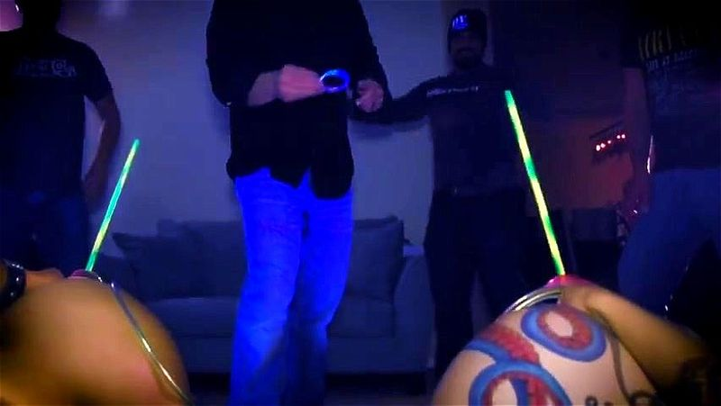 Anal ring toss video