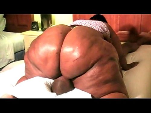 Ebony Big Ass Reverse Cowgirl