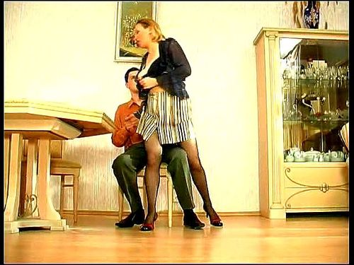 Russian Mature Anal Threesome