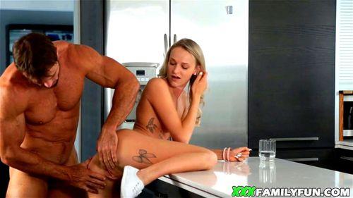 Horny Stepdad Fucks Daughter