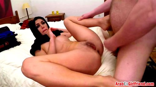 Watch Tight Arab Beauty Getting Her Wet Little Pussy Banged Big