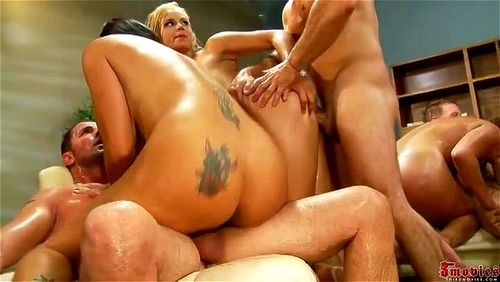 tits group orgy Huge