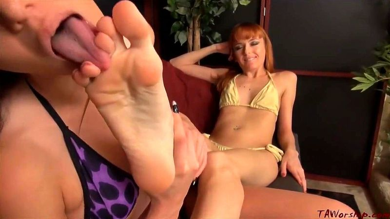 Office Stocking Feet Worship
