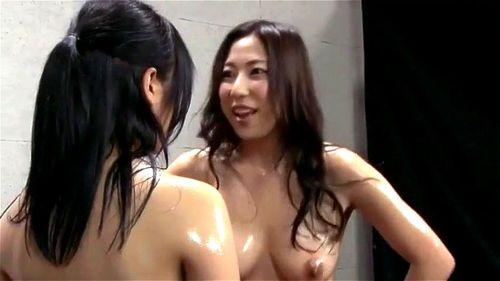 Japanese Lesbian School Orgy