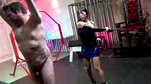 Asian Doninatrix Porn watch asian dominatrix whipping - asian, bondage, fetish