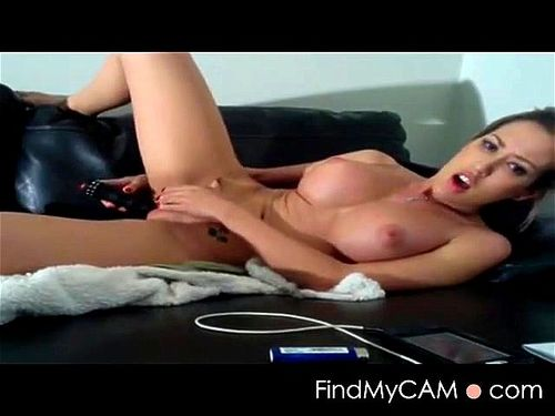 Solo Girl Toying Creamy Pussy