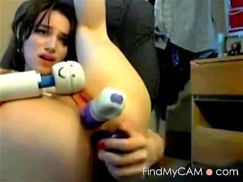 Big Tits Redhead Webcam Dildo