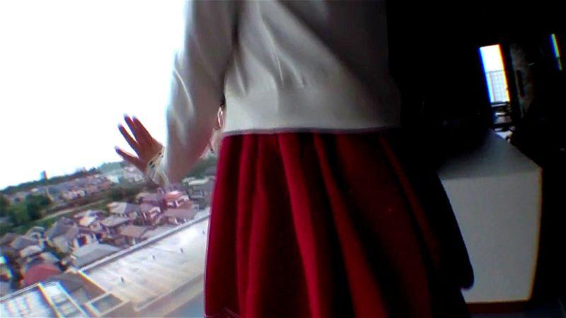 野外で少女に卑猥なことをさせ、ホテルでたっぷりスレンダー美ボディを味わう
