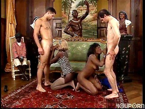 Ebony Bbw Fuck Two Guys
