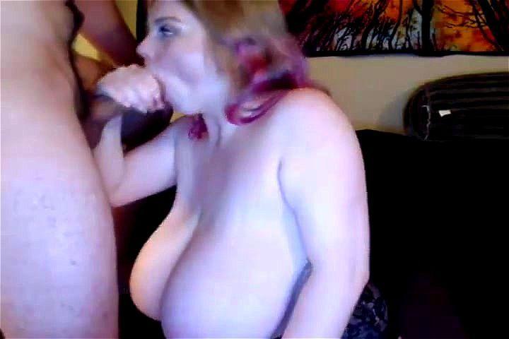 Big Tits Mature Blowjob