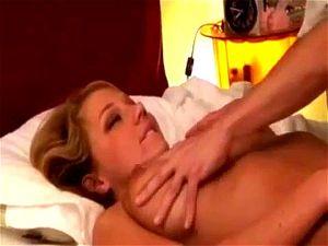 blonde wife asian massage