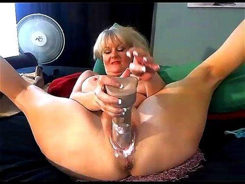 Watch Mature Milf Fucks Big Toys And Cummed Creampie Live -5167