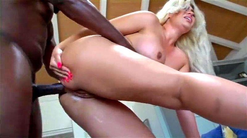 Interracial Bbw Anal Creampie