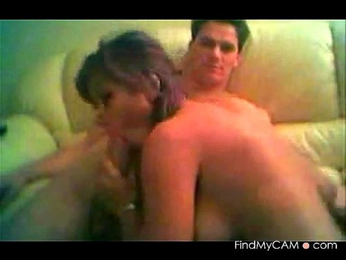 Fabulous tits brunette fucked on webcam