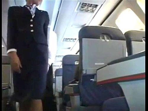 Stewardess riley evans Stewardess