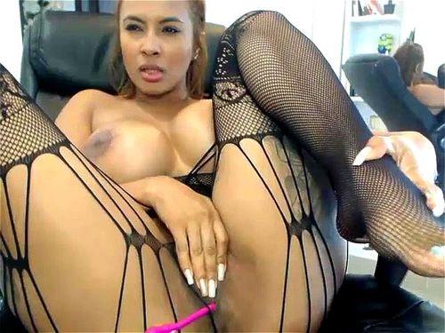 Ebony Huge Tits Cumshot