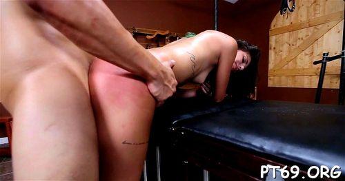 Huge cock stuffed ass porn tube