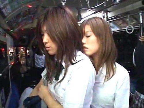 Japanese Lesbian Molester Bus