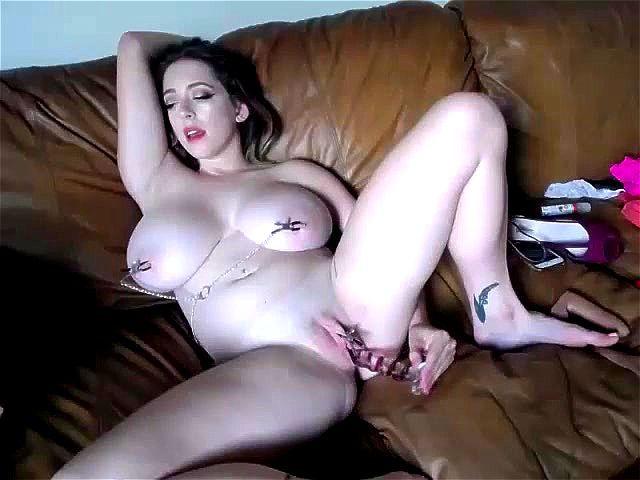 White Girl Takes Huge Cock