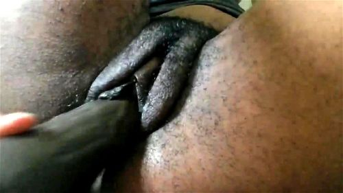 Fat Pussy Ebony Dildo Riding