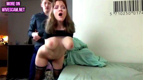 Amateur girl sucks three dicks