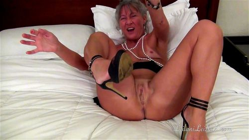 Busty Mature Solo Orgasm