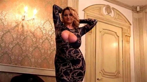 Big Tits Tight Dress Solo
