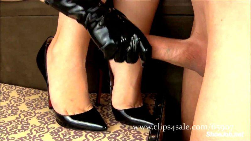 Cumshot high heels Free High