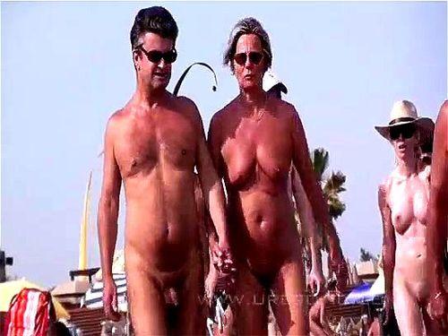 Watch 해변에서 누드 - 1, 2, Blonde Porn