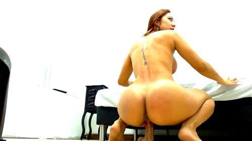 Big Ass Mom Riding Dildo