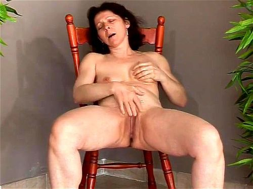 Naked stripers open legs