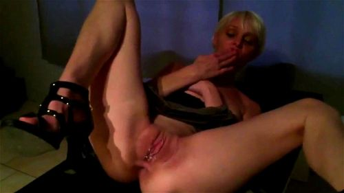Charming on her sex milf heels has and cum load hot consider, that