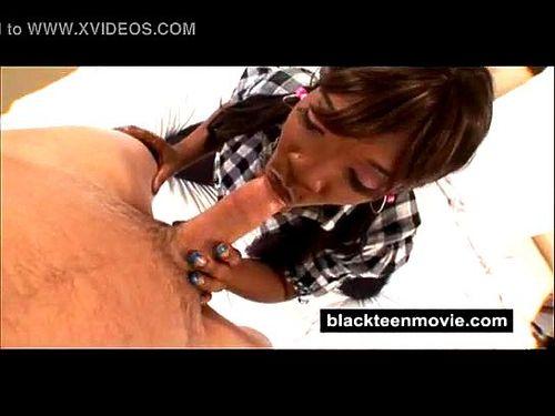 Petite Black Girl Gangbang