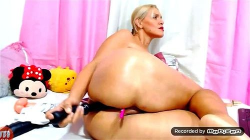 Amateur Chubby Mature Solo
