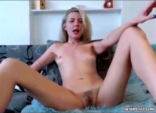 Fucking Hairy Skinny Pussy